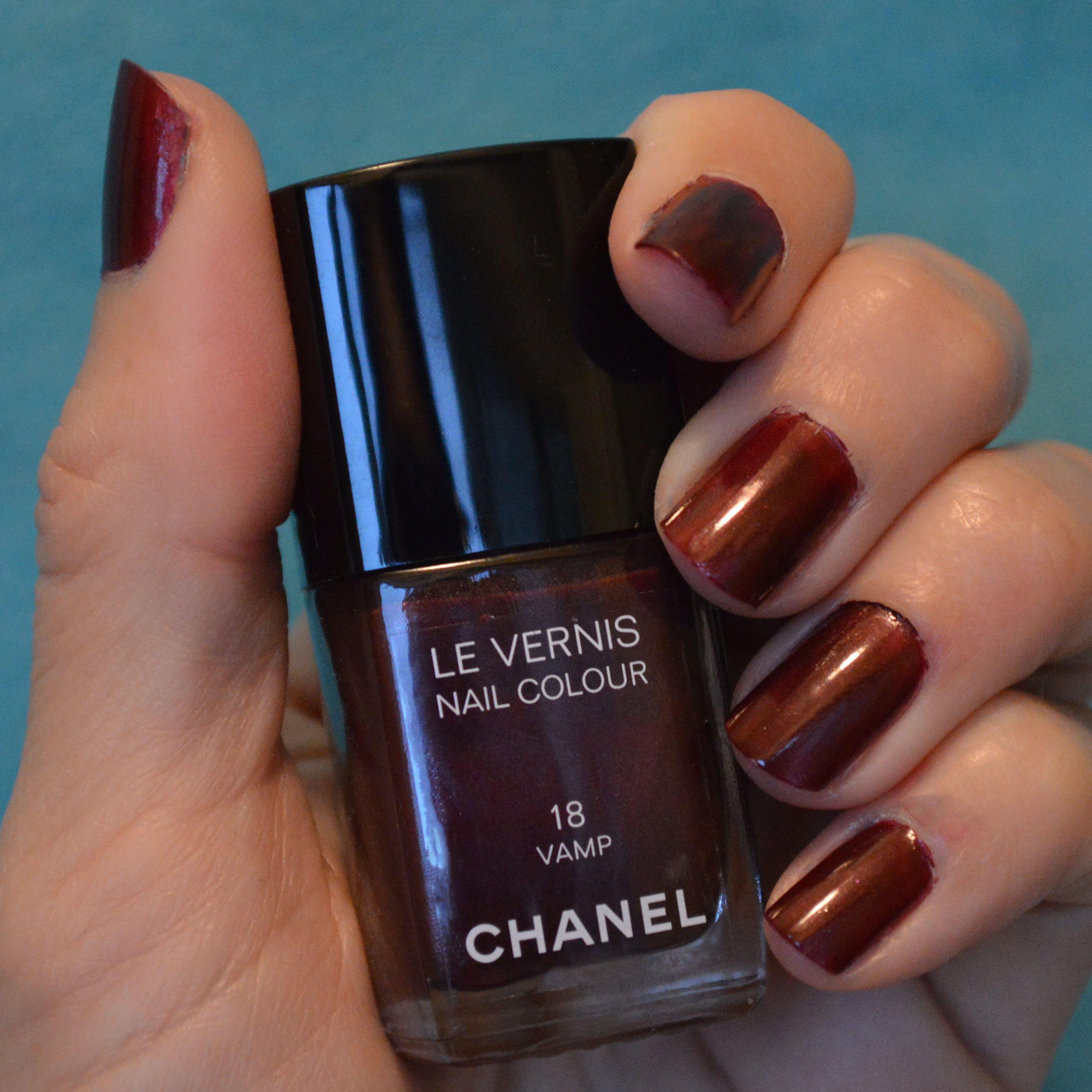 Chanel Vamp Nail Polish Bay Area Fashionista