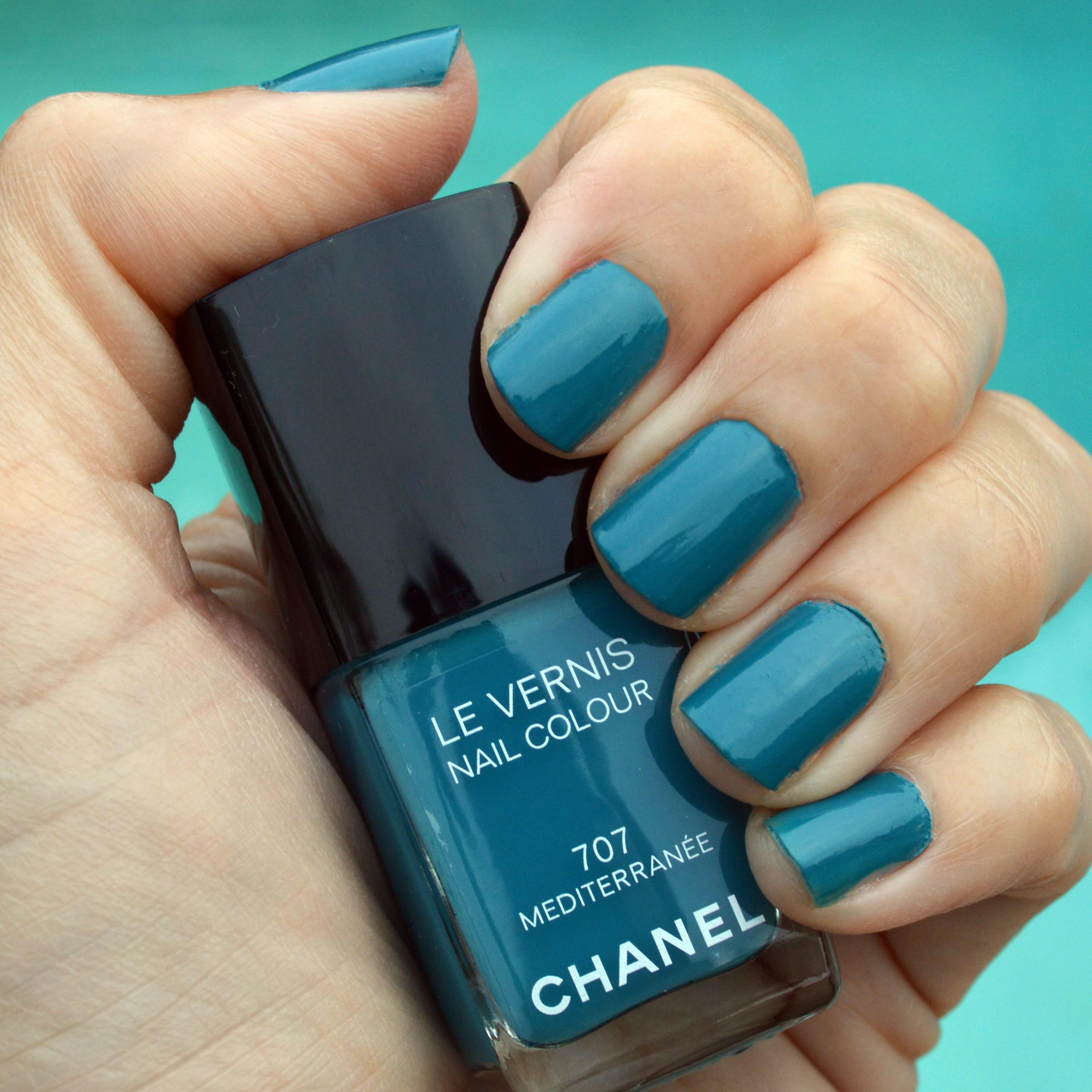 chanel mediterranee nail polish summer 2015 review – Bay Area ...