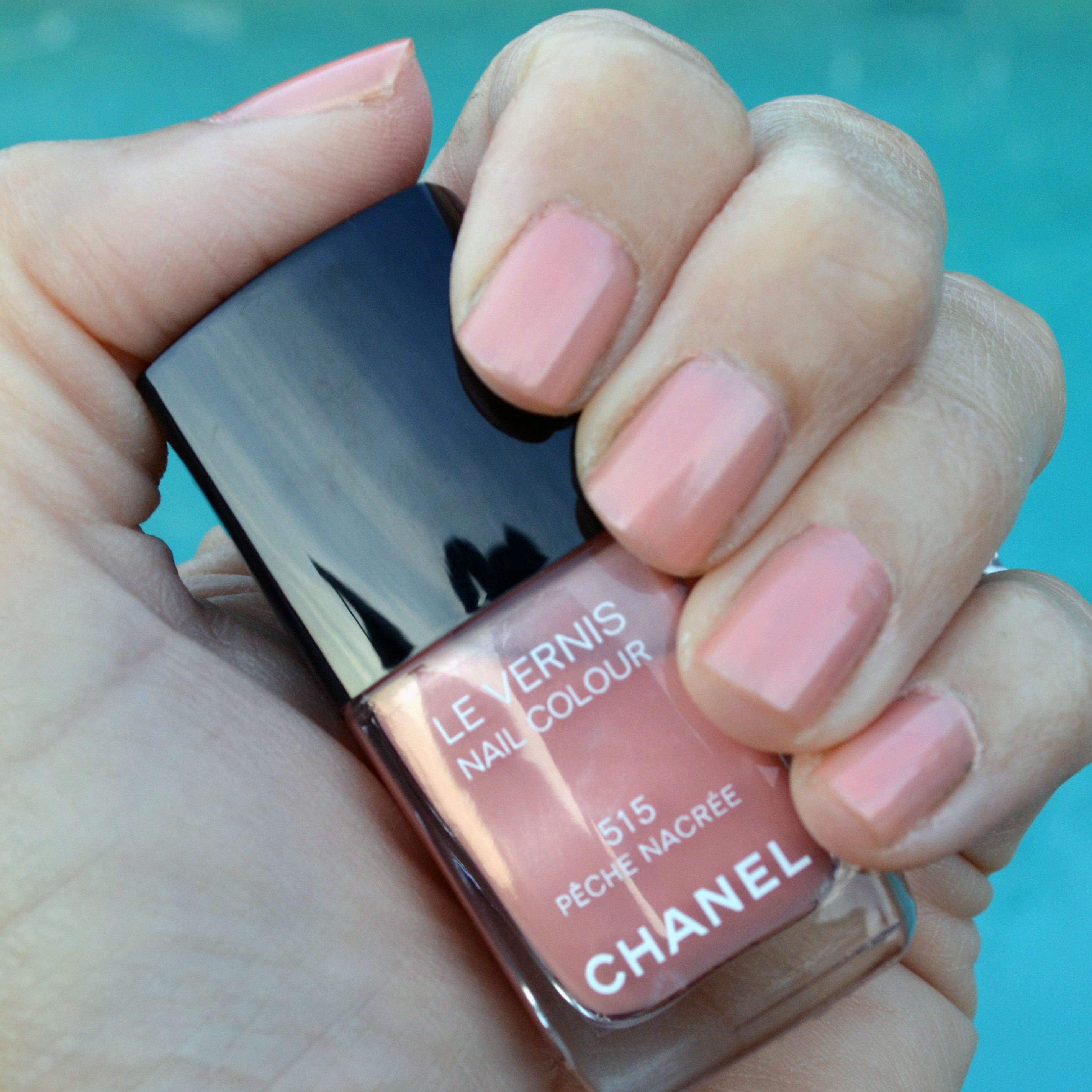 Chanel Peche Nagree Nail Polish Review Bay Area Fashionista