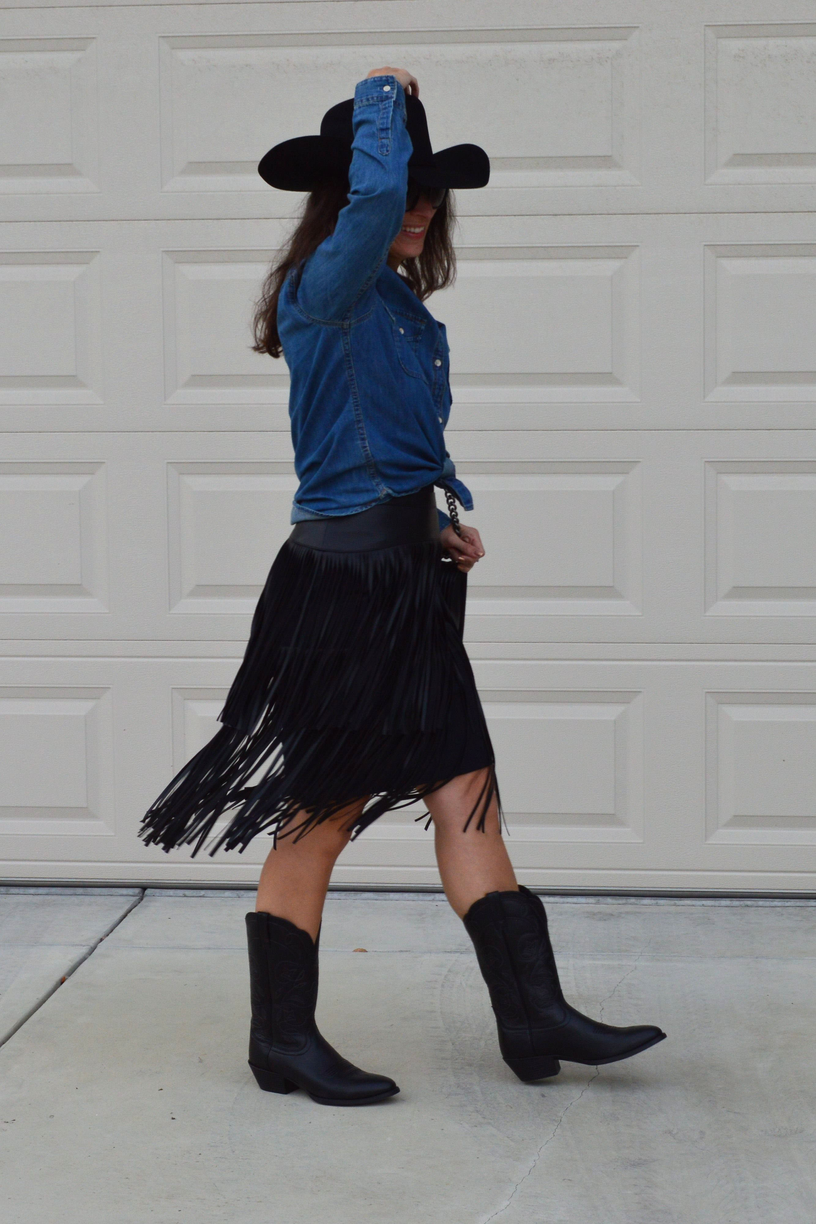 western fringe outfit cowgirl costume idea & western fringe outfit cowgirl costume idea u2013 Bay Area Fashionista