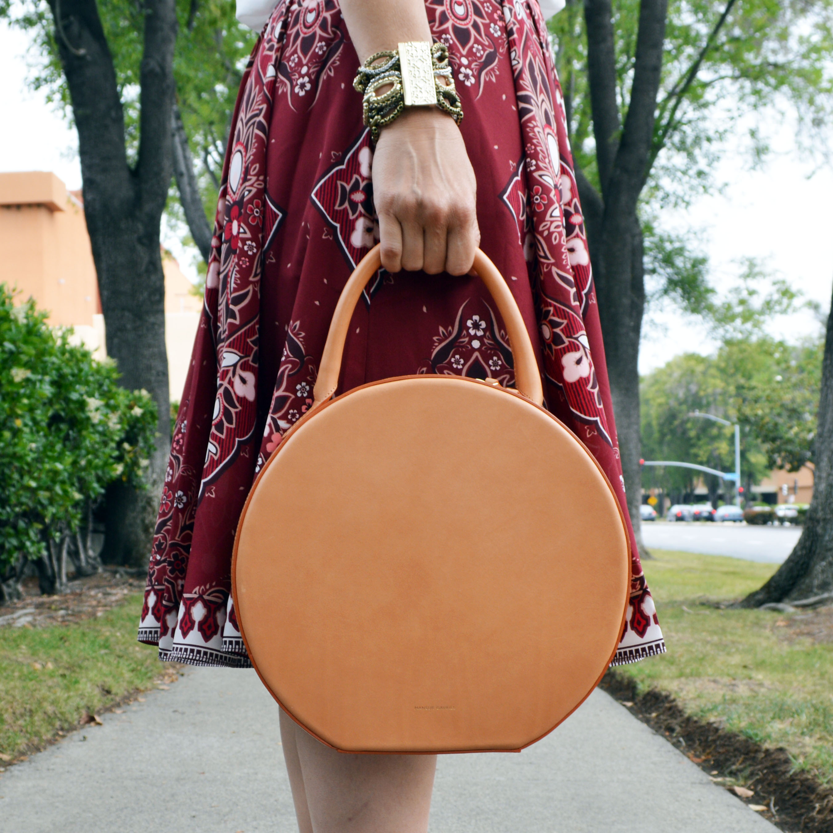 mansur gavriel small circle bag