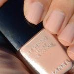 Chanel Pink Rubber nail polish holidays 2016