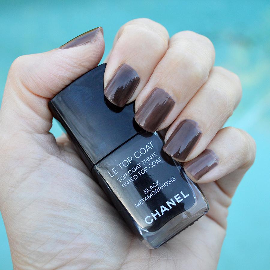 chanel top coat black metamorphosis nail polish spring 2017 – Bay ...