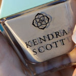 Kendra Scott Slate Grey nail polish review