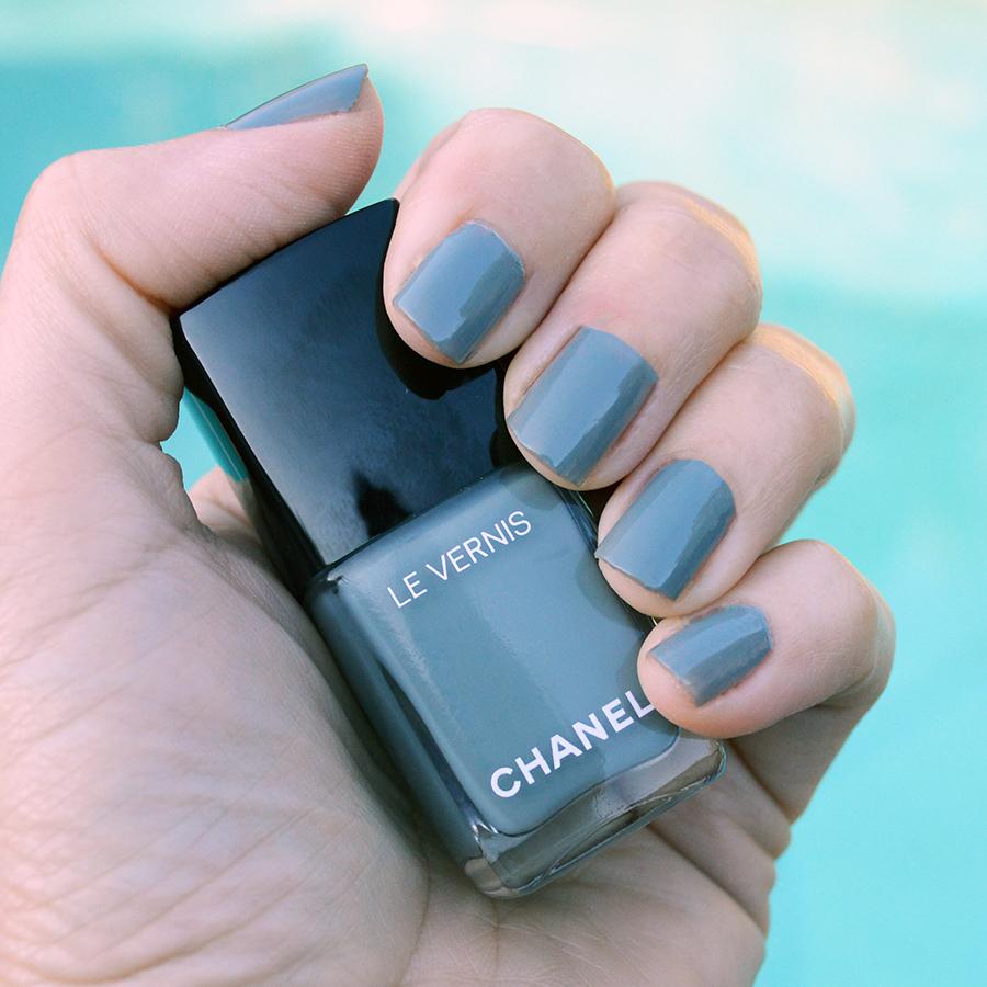 chanel washed denim spring 2017 nail polish