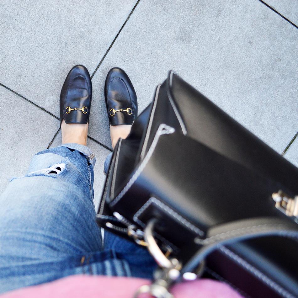 gucci princeton loafers mules