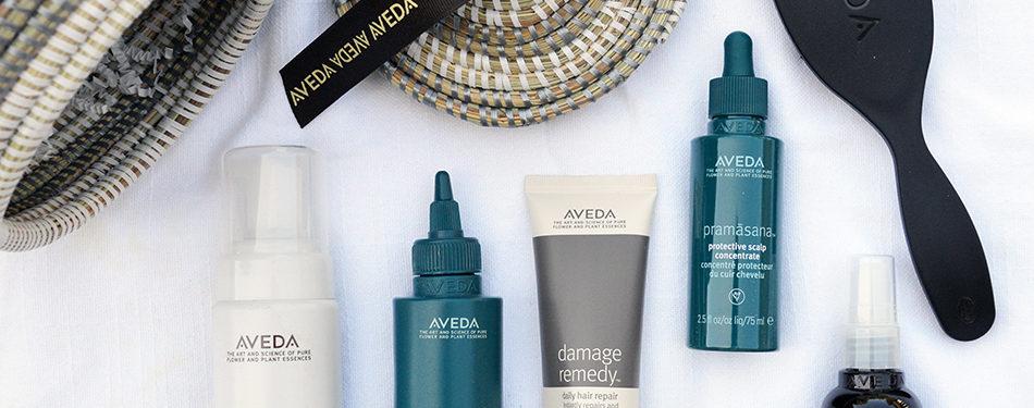 how to use aveda pramasana