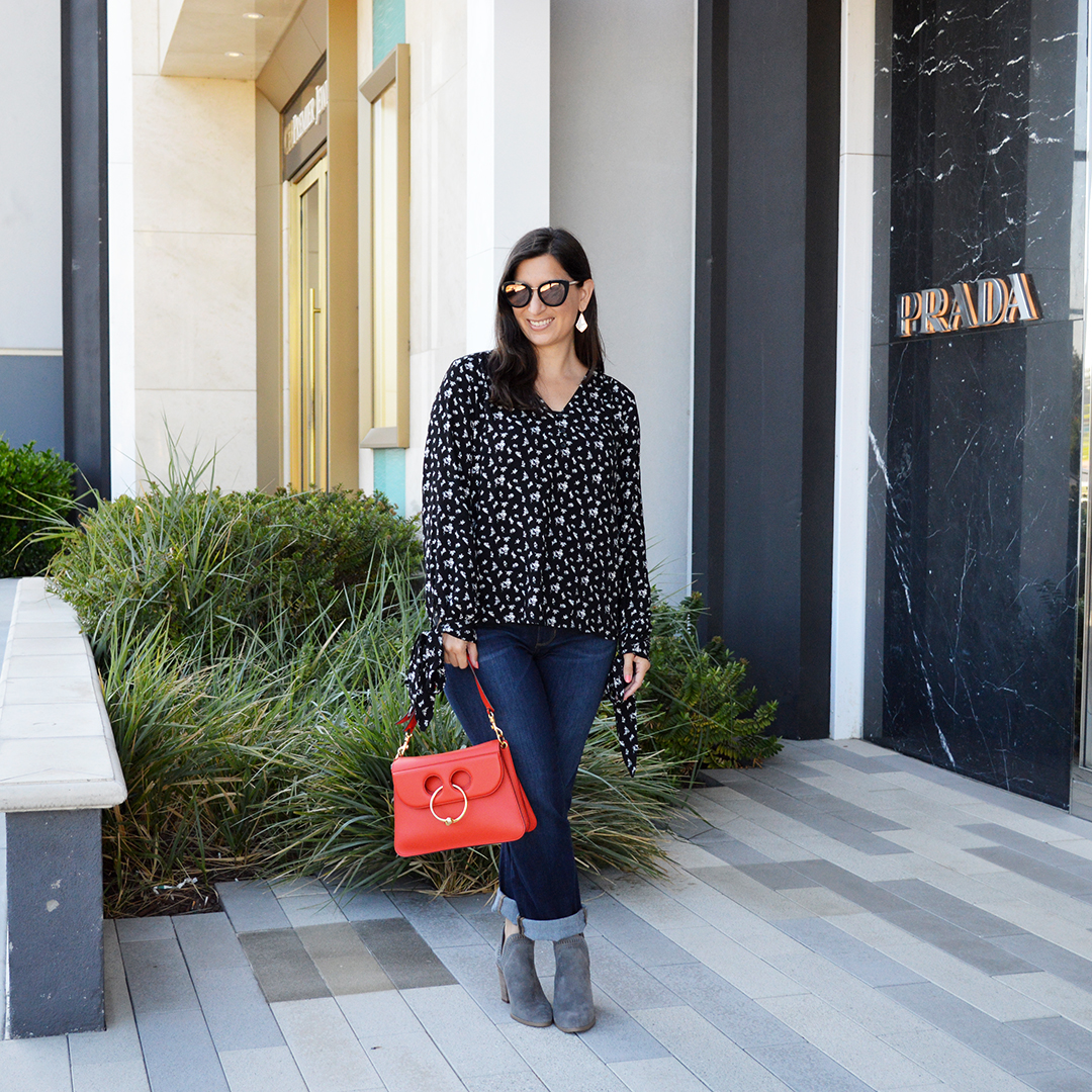 Casual Late Summer Early Fall Outfit Bay Area Fashionista