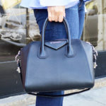 Can't get enough of my . . . black top handle satchel!
