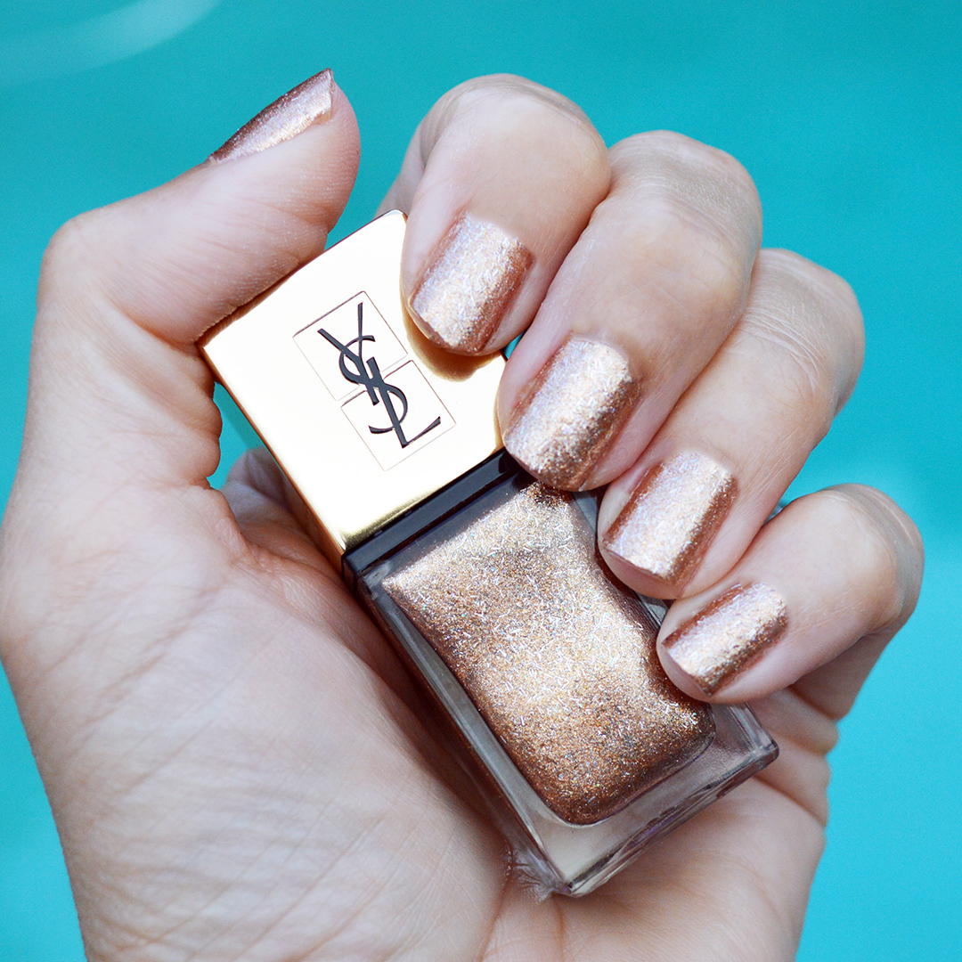 YSL bronze fever nail polish fall 2017 review