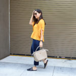 Fall peplum top to wear now