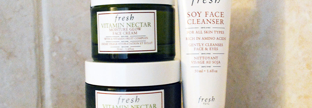 fresh vitamin nectar moisture glow face cream review