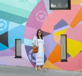 summer white dress under $100 san francisco fashion style blogger