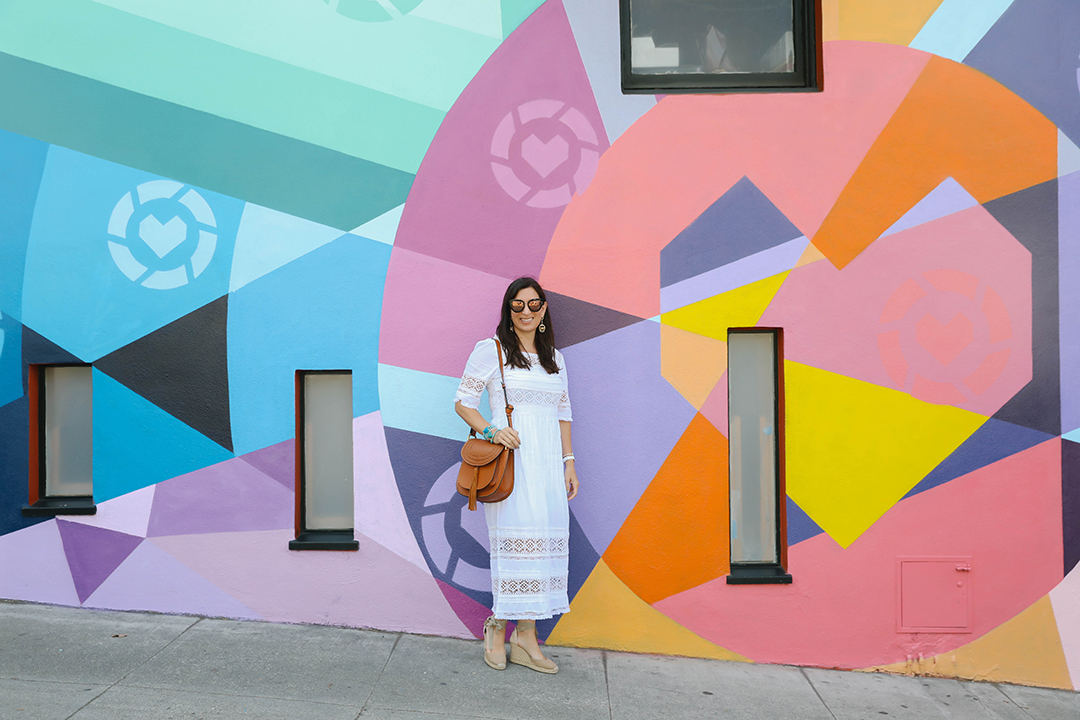 summer white dress under $100 san francisco fashion style blogger