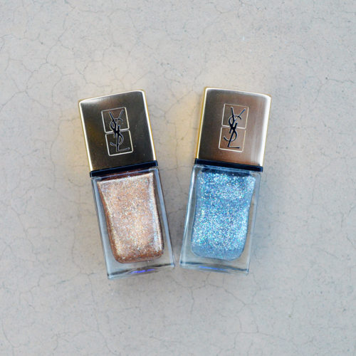 YSL fall 2017 nail polish Studio 54 review