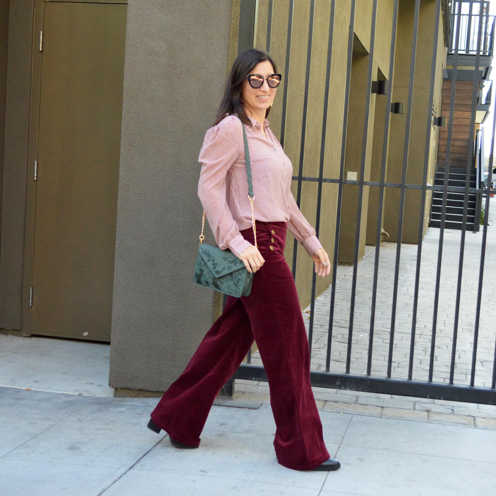 how to wear wide leg pants