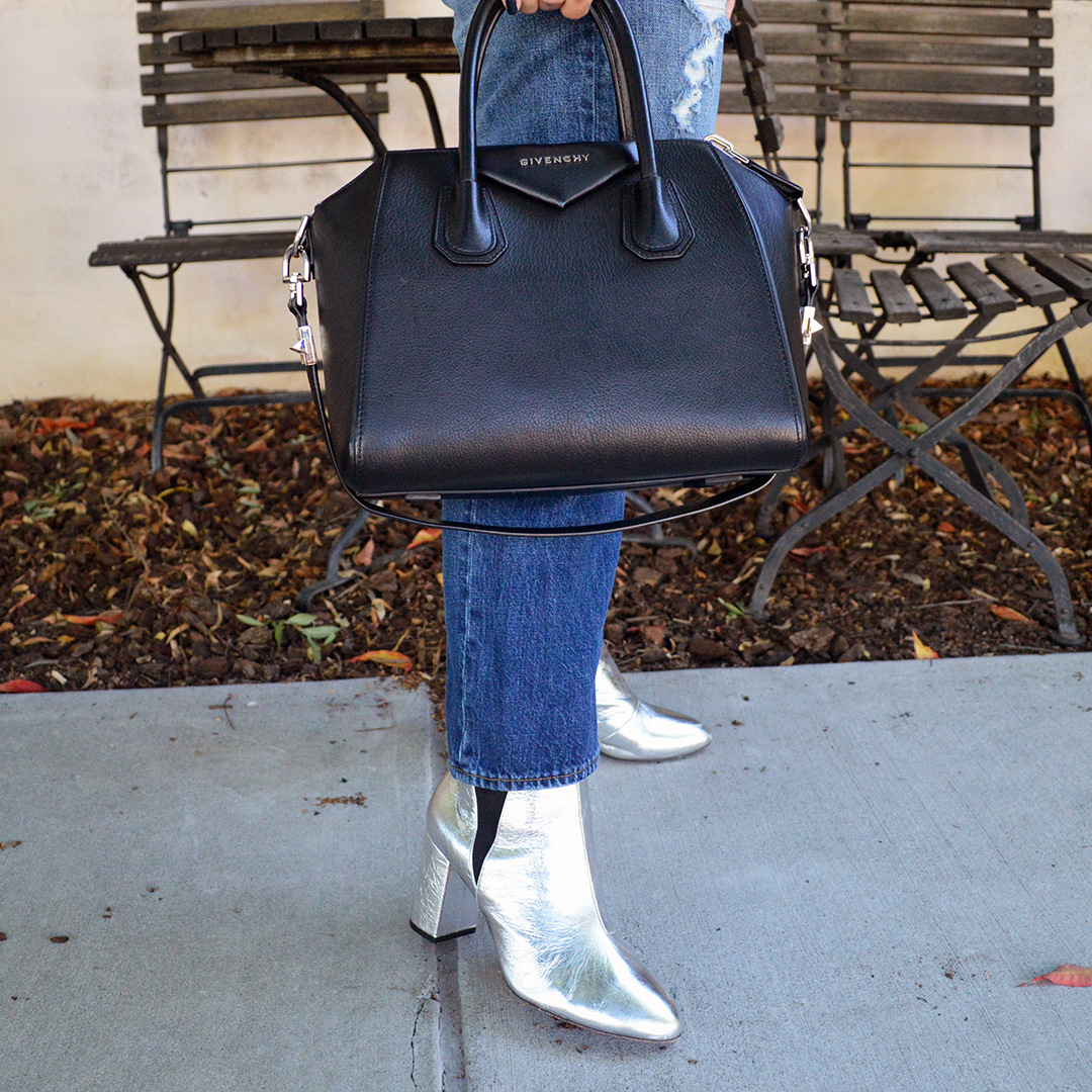silver boots for fall 2017