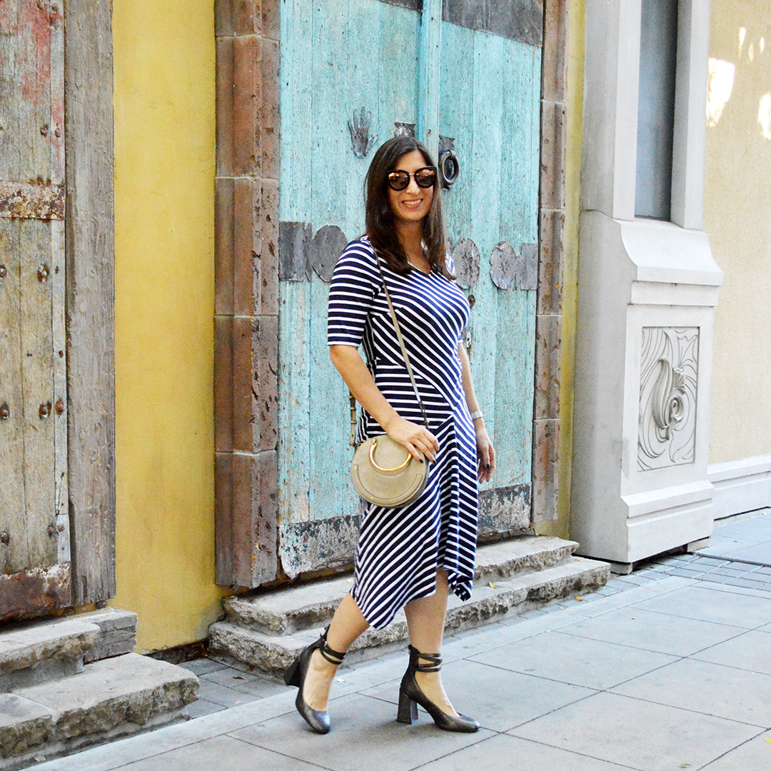 how to wear nautical stripes fall