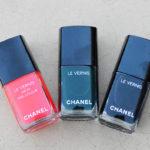 Chanel holiday 2017 nail polish review
