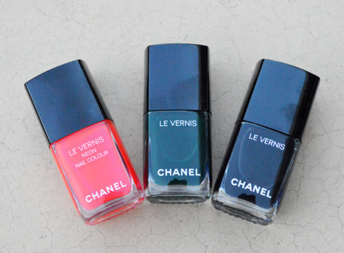 Chanel holiday 2017 nail polish review