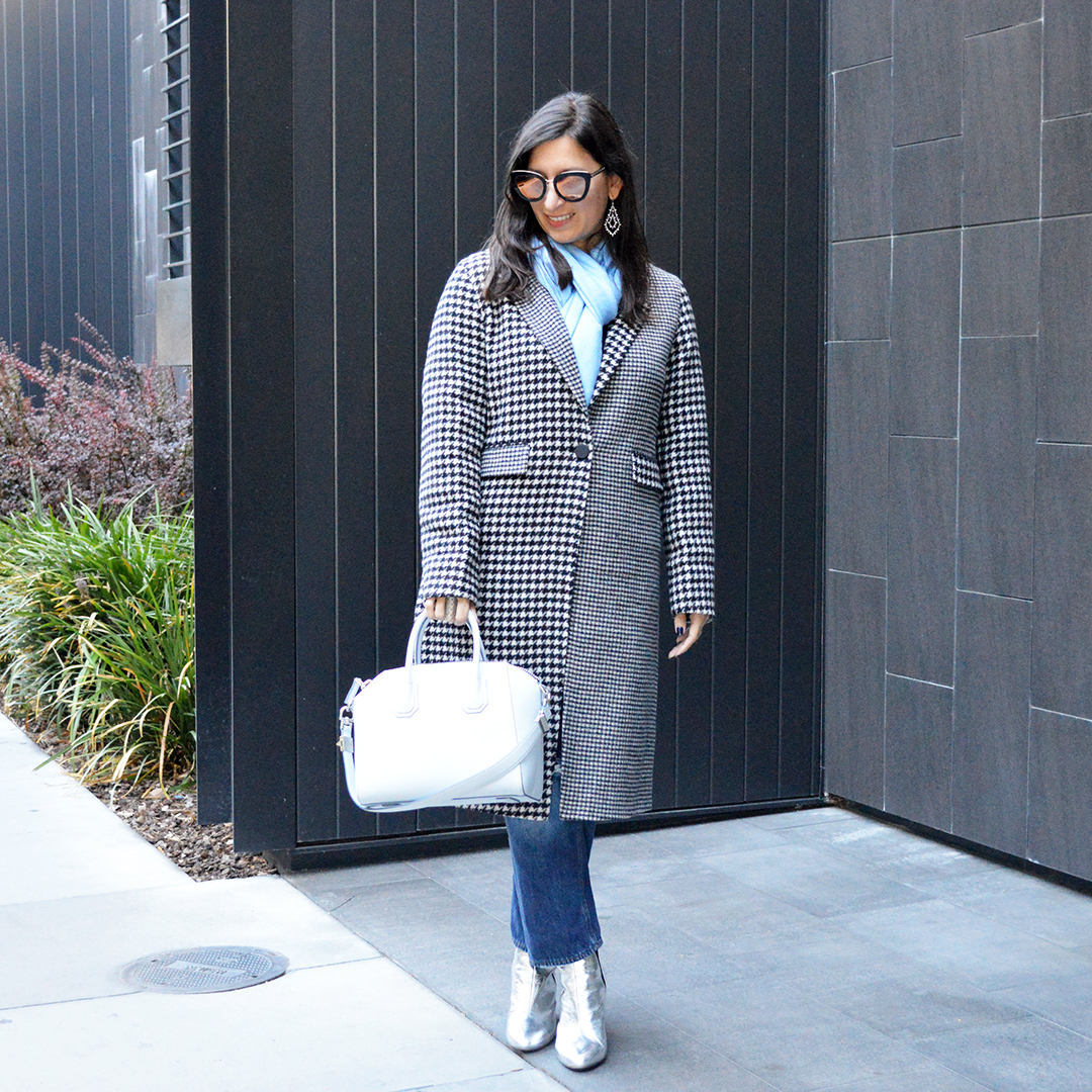 houndstooth coats fall winter