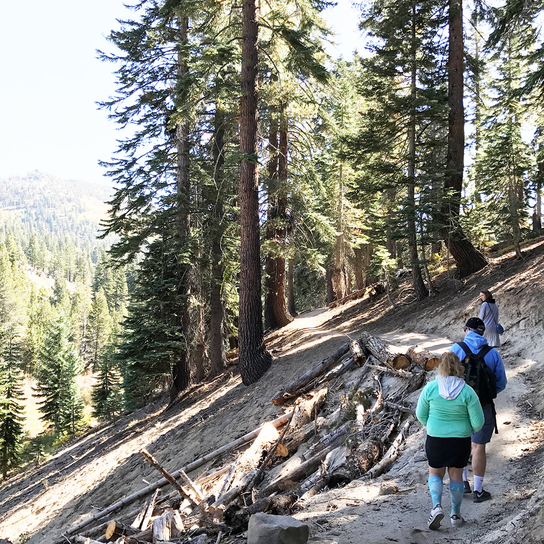 how to find incline flume trail