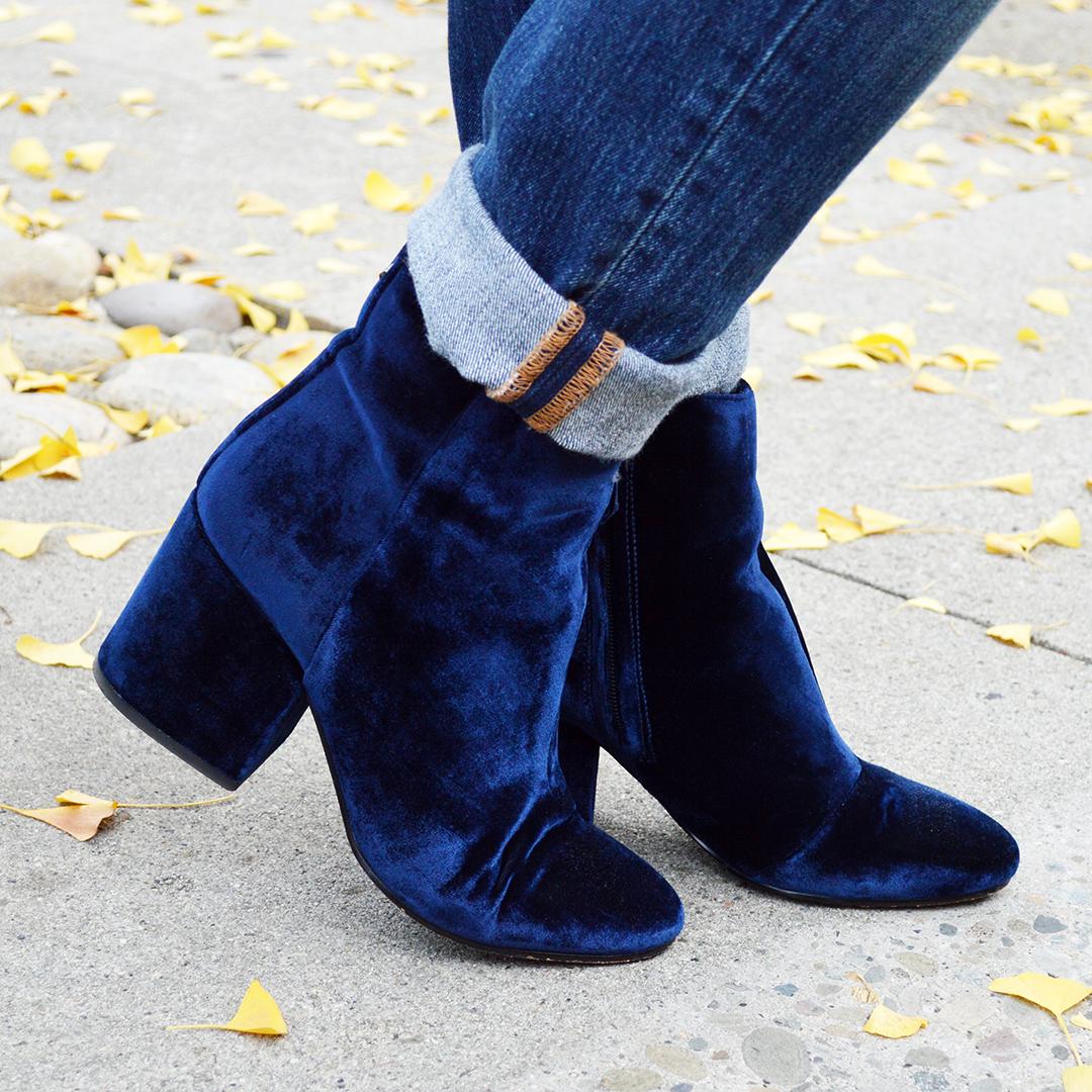 velvet boots fall 2017