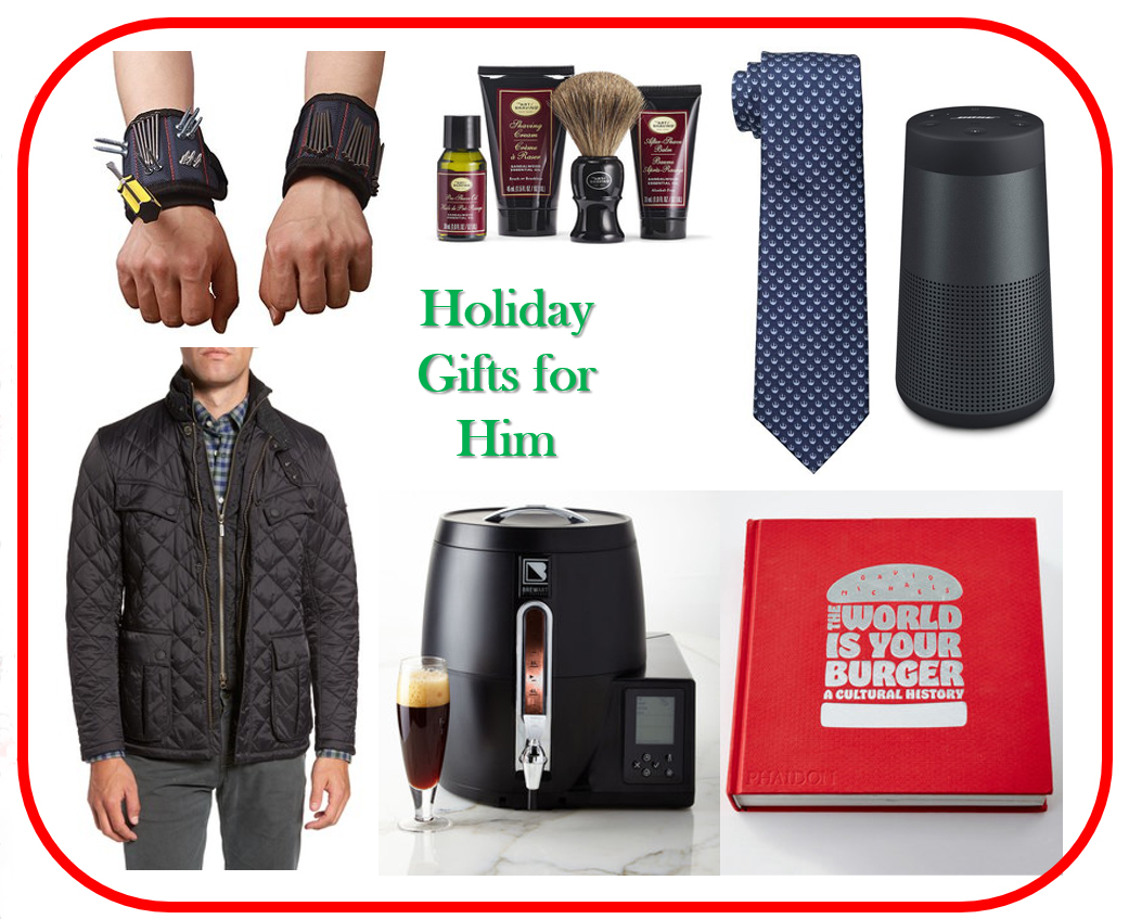 Holiday Gifts for him – Bay Area Fashionista