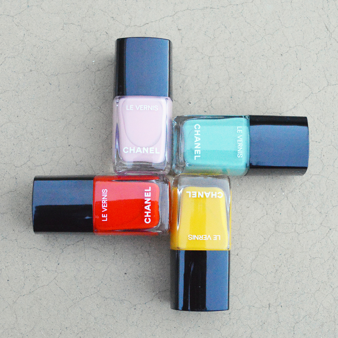 chanel spring 2018 nail polish review