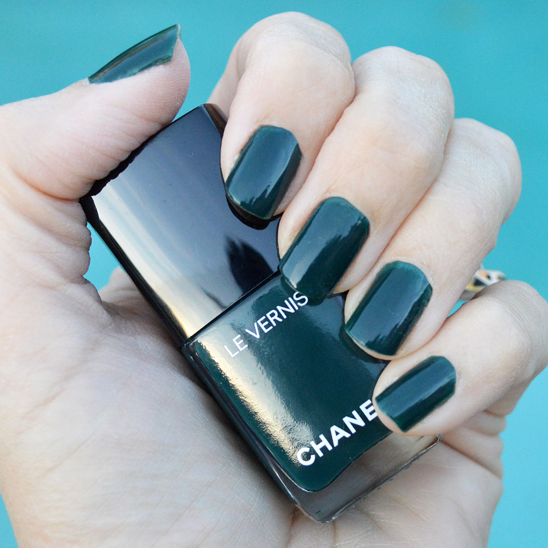 chanel nail polish winter 2018