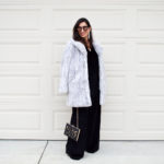 Comfortable evening jumpsuit for winter