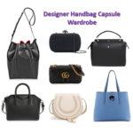 Designer handbag capsule wardrobe
