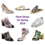 Floral shoes for spring 2018