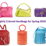 Spring 2018 handbag trends: candy colored bags