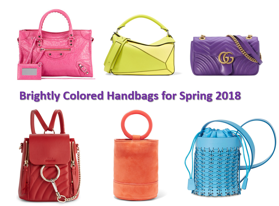 Spring 2018 handbag trends  candy colored bags – Bay Area Fashionista 3980f7d3dd397