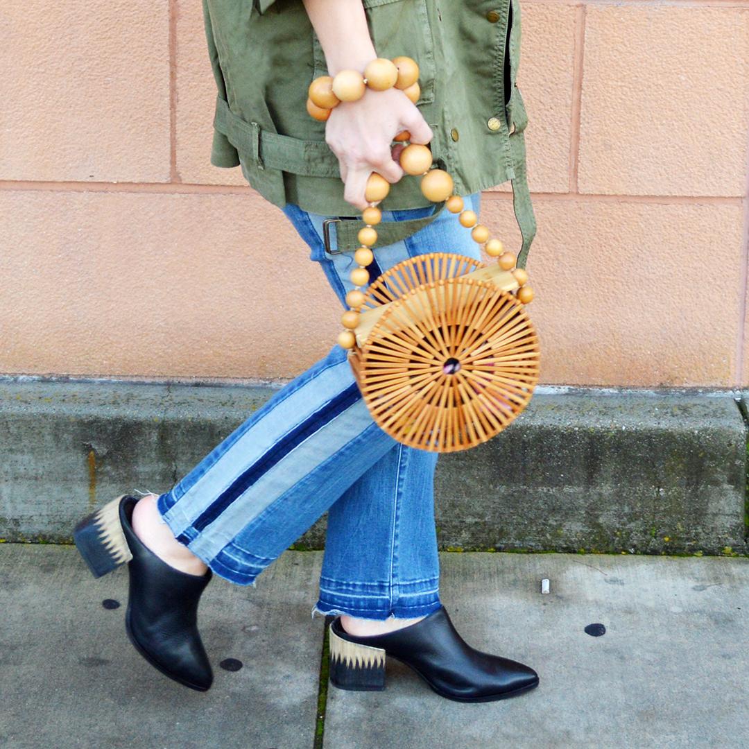 how to wear a bambook handbag spring 2018