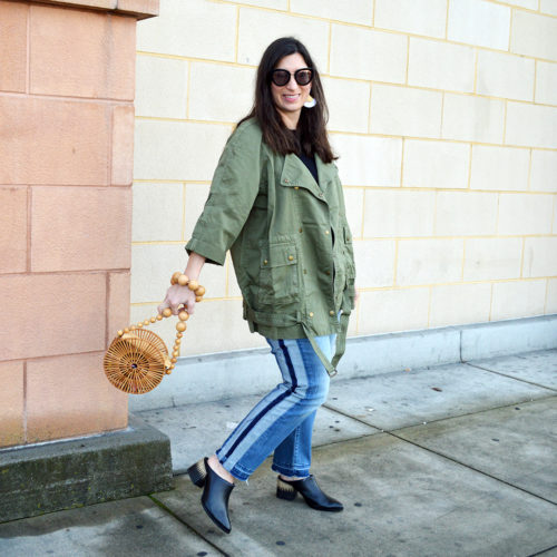 Military green for spring