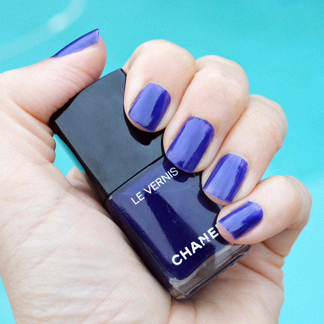 chanel violet piquant spring 2018 nail polish purple