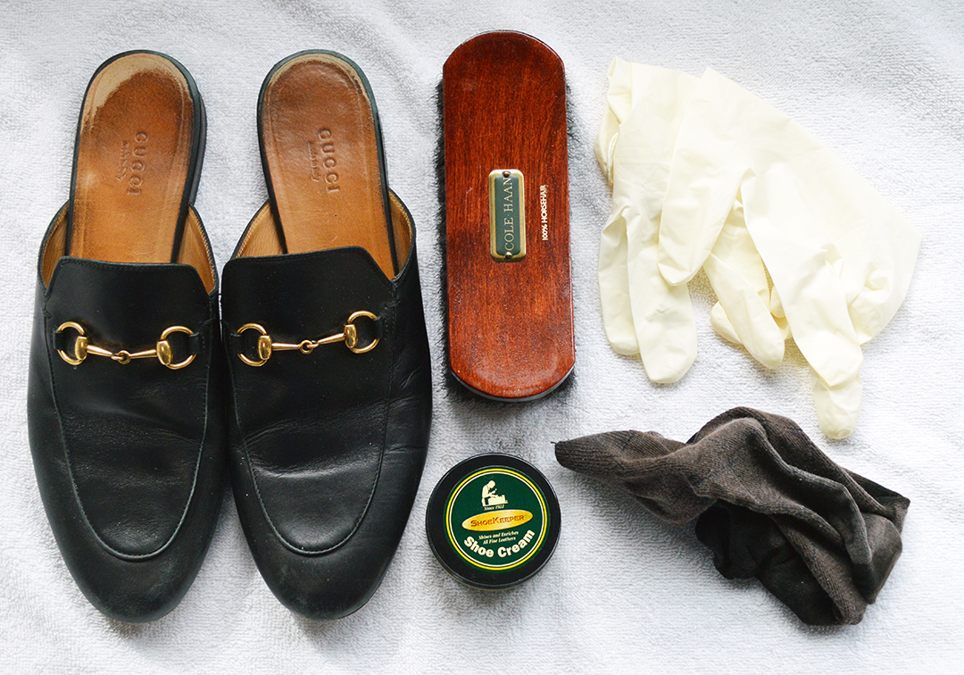 things you need for shoe polishing