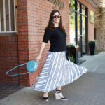 Spring stripes and a twirl