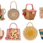 Summer 2018 handbag trends: Straw Bags