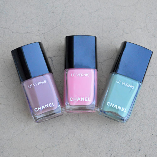 Chanel nail polish summer 2018 | Chanel cruise 2019 nail polish colors