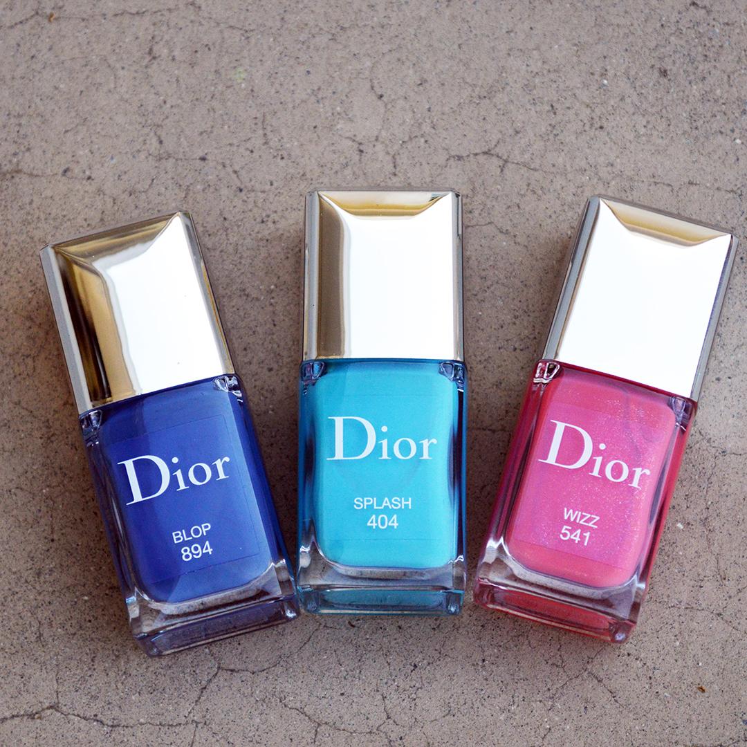 dior nail polish summer 2018