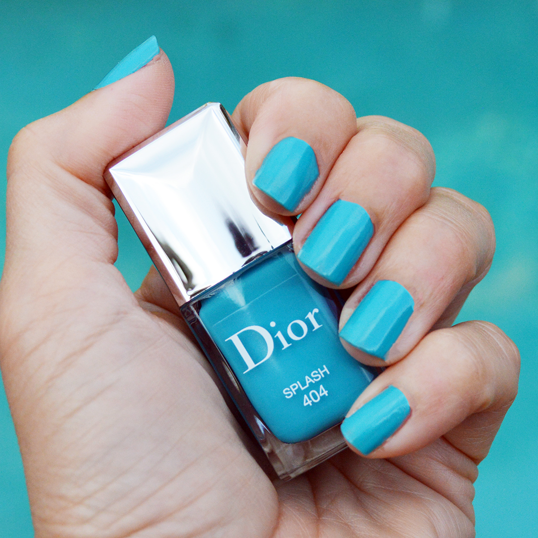 dior splash nail polish summer 2018