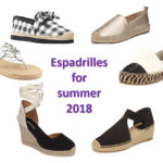 Espadrilles for summer 2018