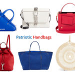 Patriotic handbags for the summer