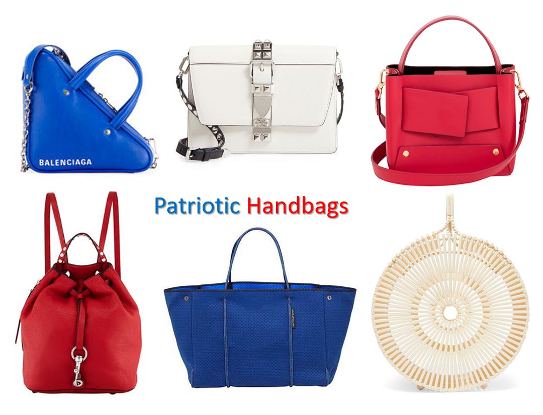 patriotic handbags summer 2018