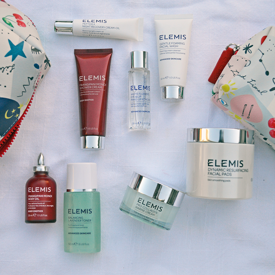 elemis travel beauty kit