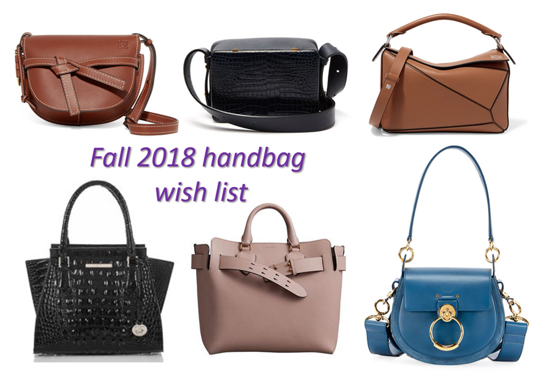 b4b5802d141d Fall 2018 handbag wish list – Bay Area Fashionista
