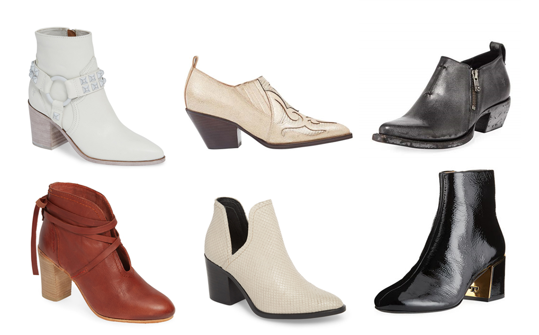 fall 2018 shoe trends booties